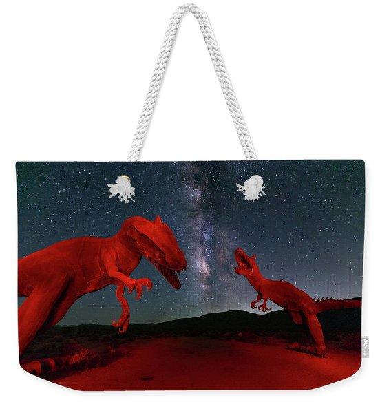 Jurassic Weekender Tote Bag