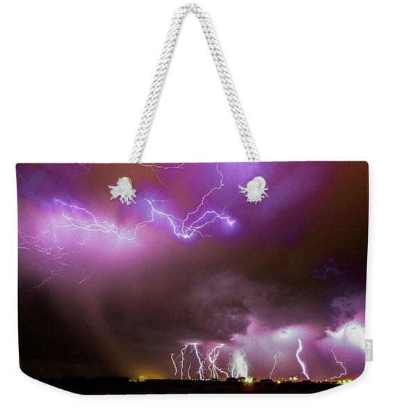 Just A Few Bolts 001 Weekender Tote Bag
