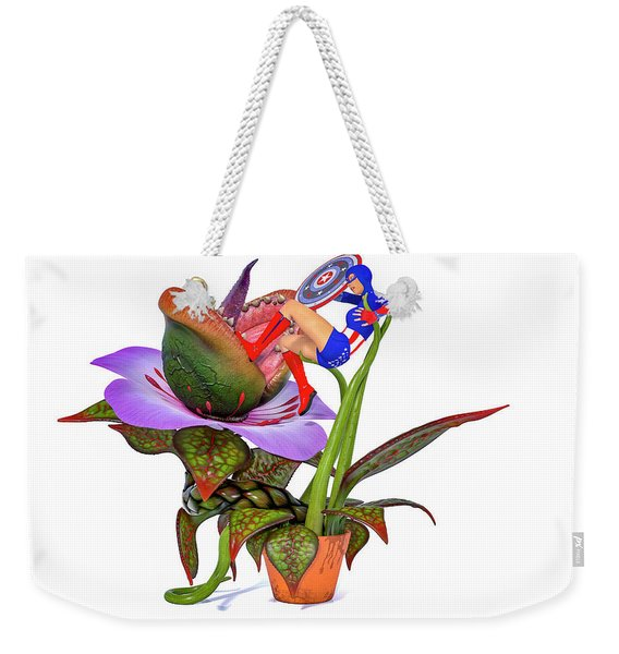 Just Another Day At The Office Weekender Tote Bag