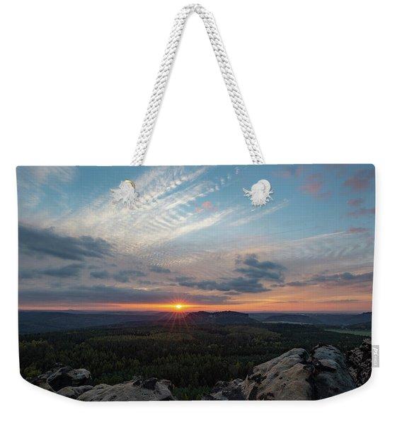Just Before Sundown Weekender Tote Bag