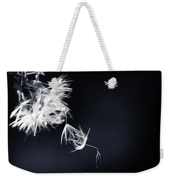 Weekender Tote Bag featuring the photograph Just Breath by Michelle Wermuth