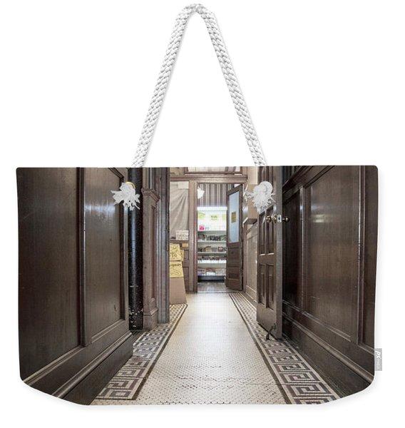 Just Down The Hall Weekender Tote Bag