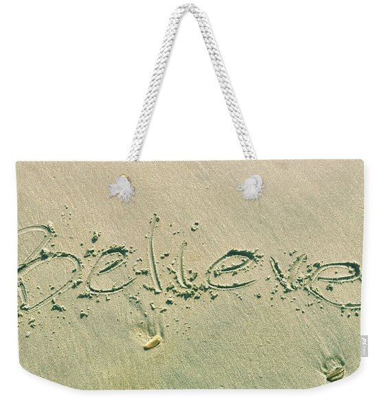 Weekender Tote Bag featuring the photograph Just by JAMART Photography
