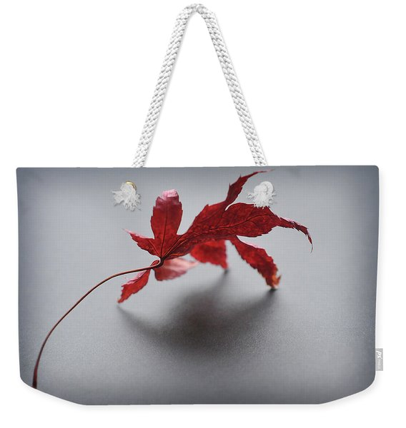 Weekender Tote Bag featuring the photograph Just One by Michelle Wermuth