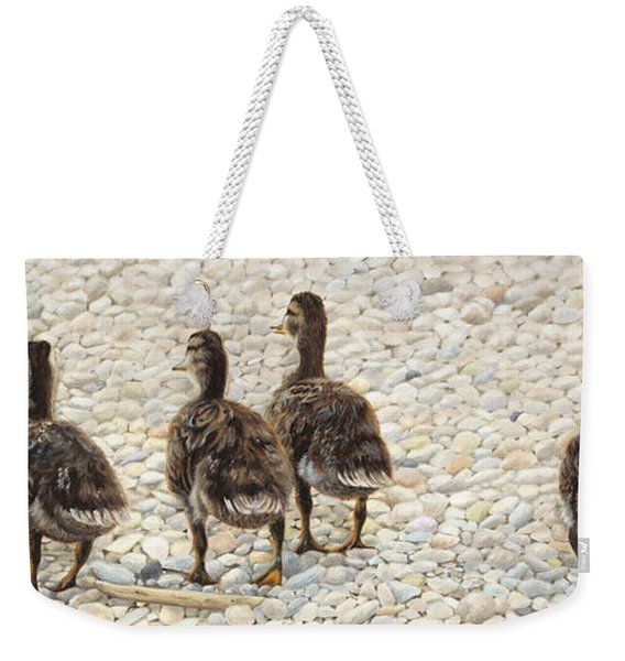 Just Waddling Weekender Tote Bag
