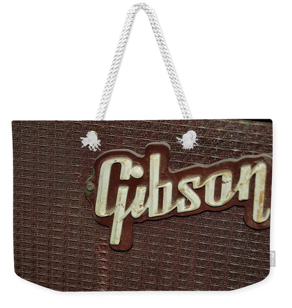 Weekender Tote Bag featuring the photograph Kalamazoo Gibson by JAMART Photography