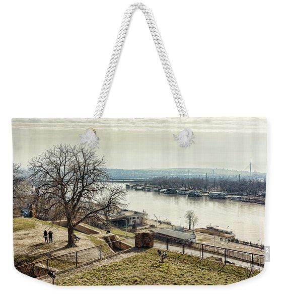 Kalemegdan Park Fortress In Belgrade Weekender Tote Bag