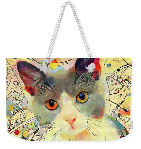 Kandinsky Cat 2 Weekender Tote Bag