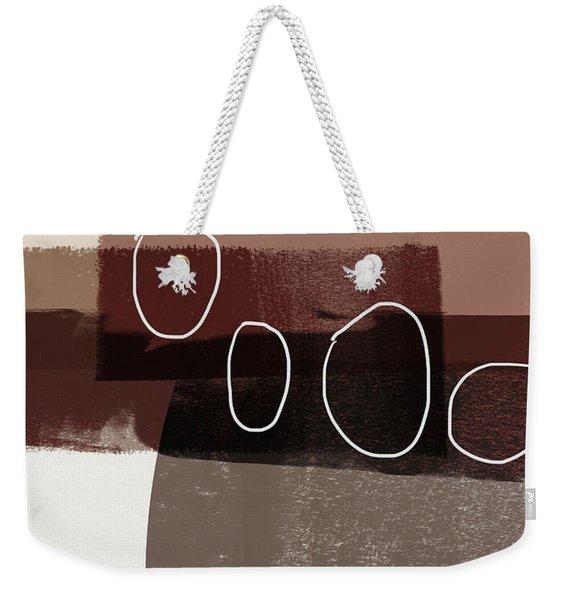 Karamel 3- Art By Linda Woods Weekender Tote Bag