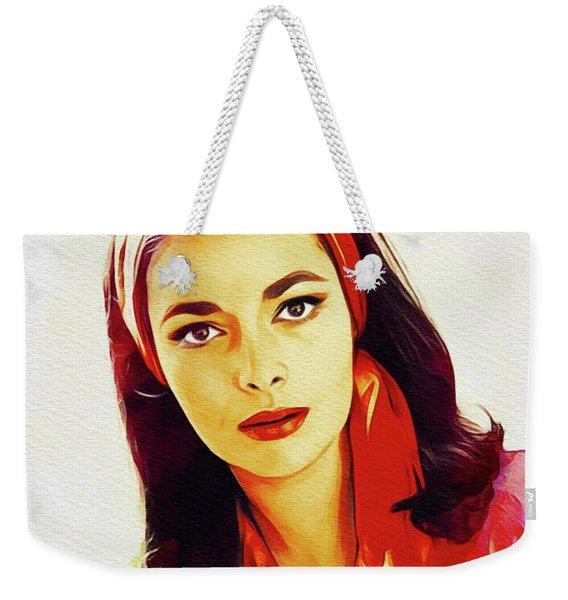 Karin Dor, Vintage Actress Weekender Tote Bag