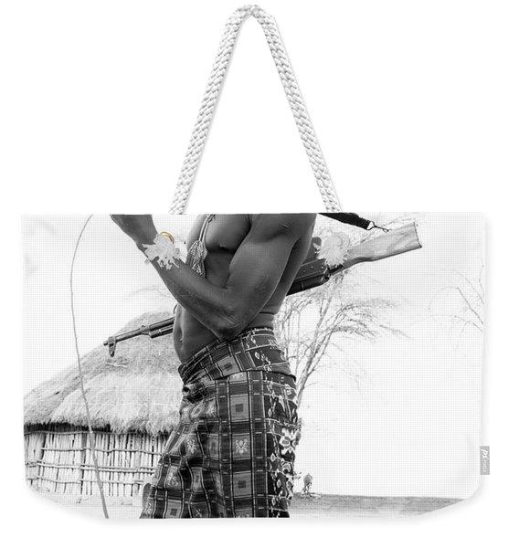 Karo Man  Weekender Tote Bag