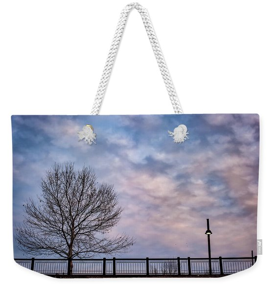 Kaw Point Silhouettes Weekender Tote Bag