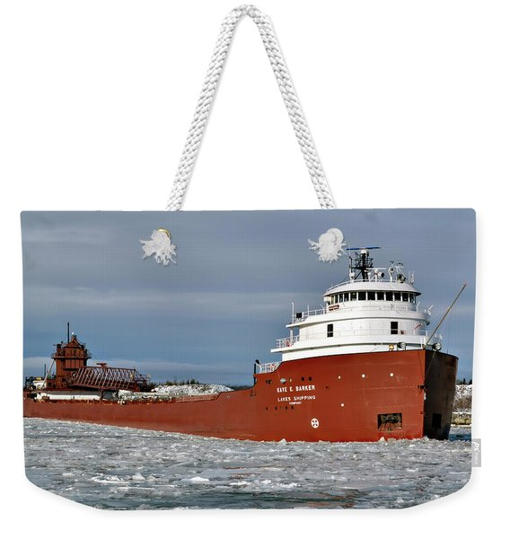 Kaye E Barker In Cut Weekender Tote Bag
