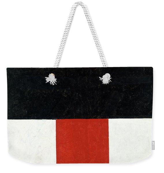Kazimir Malevich-hieratic Suprematist Cross, 1921 Weekender Tote Bag