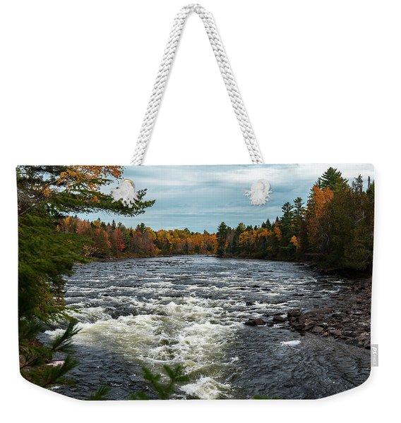 Kennebec River Weekender Tote Bag