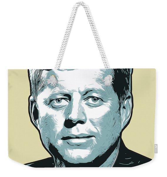 Kennedy 31oct18 Weekender Tote Bag