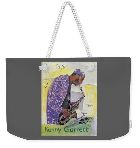 Kenny Garrett Weekender Tote Bag