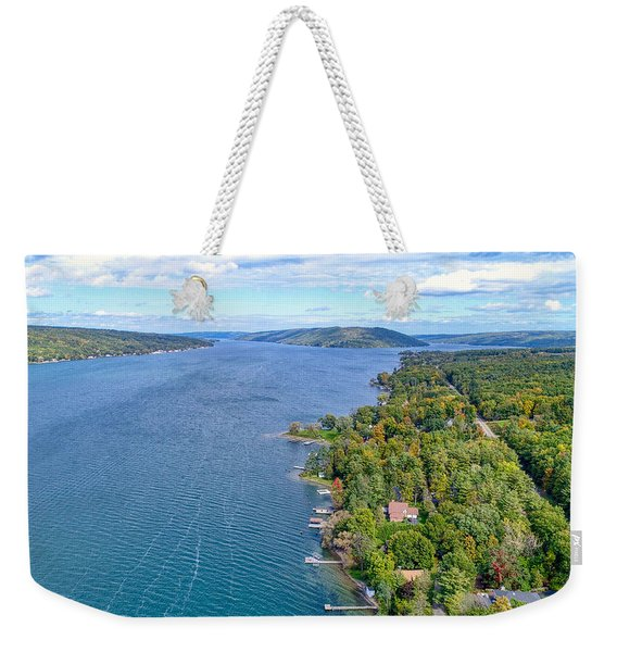 Keuka Center Point Weekender Tote Bag