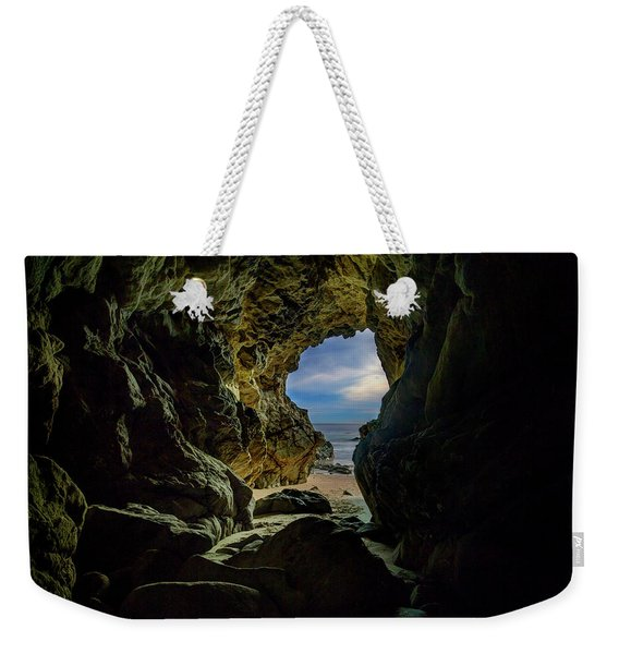 Keyhole Cave In Malibu Weekender Tote Bag
