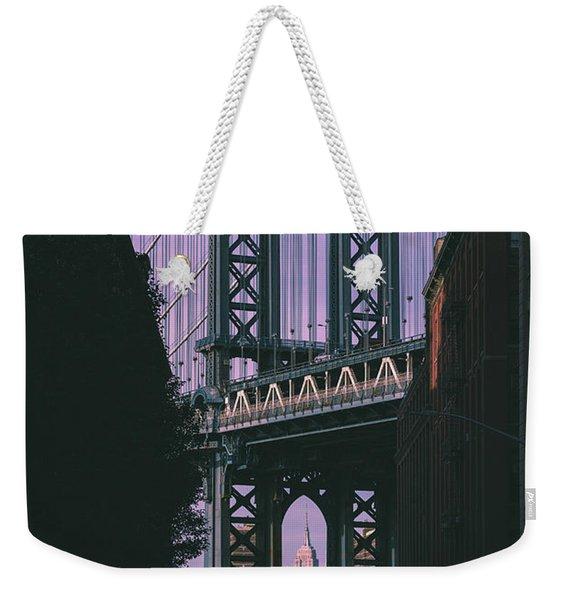 Keyhole Weekender Tote Bag