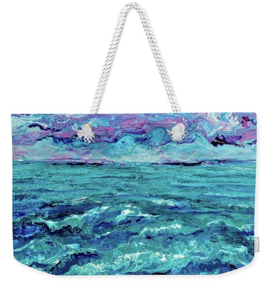Keys Seascape Weekender Tote Bag