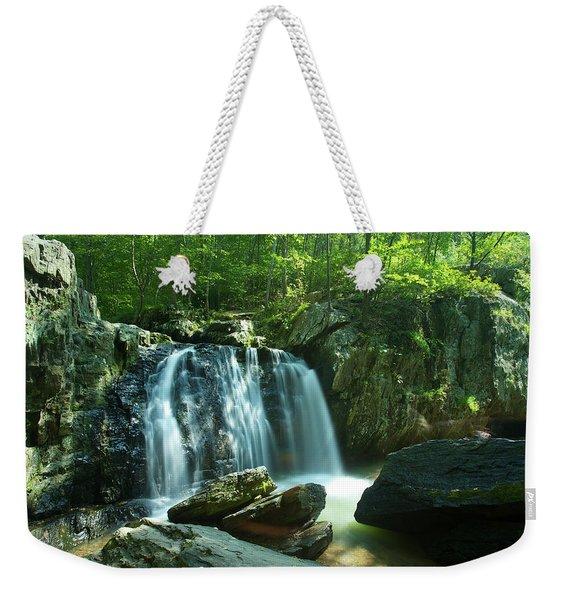 Kilgore Falls In Summer Weekender Tote Bag