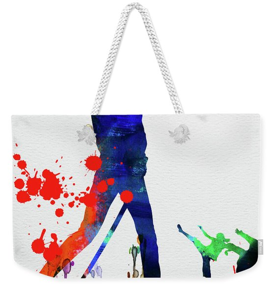 Kill Bill Watercolor Weekender Tote Bag