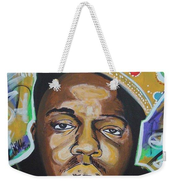 King Christopher Weekender Tote Bag