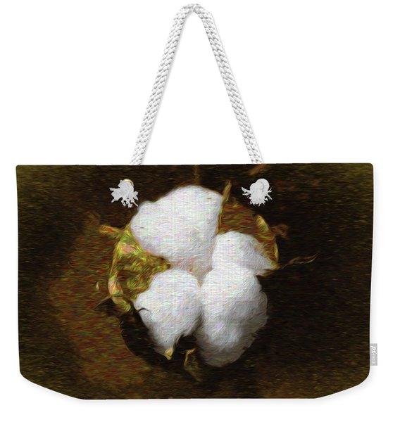 King Cotton Weekender Tote Bag