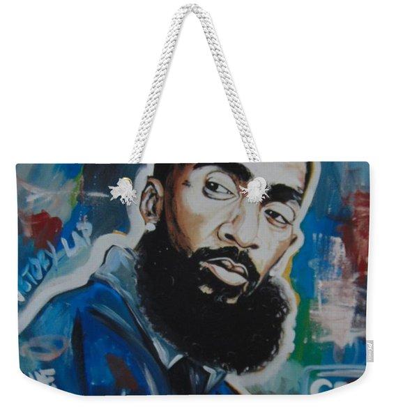 King Nipsey Weekender Tote Bag
