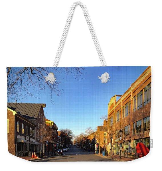 King Street Sunrise Weekender Tote Bag