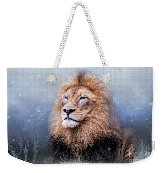 King Winter Weekender Tote Bag