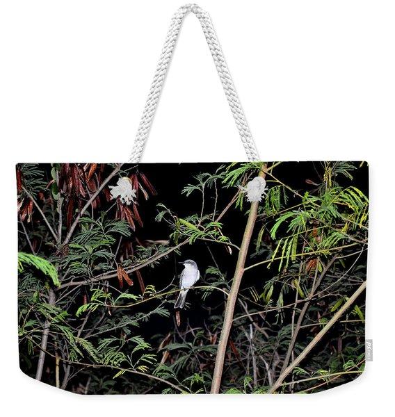 Kingbird At Night Weekender Tote Bag