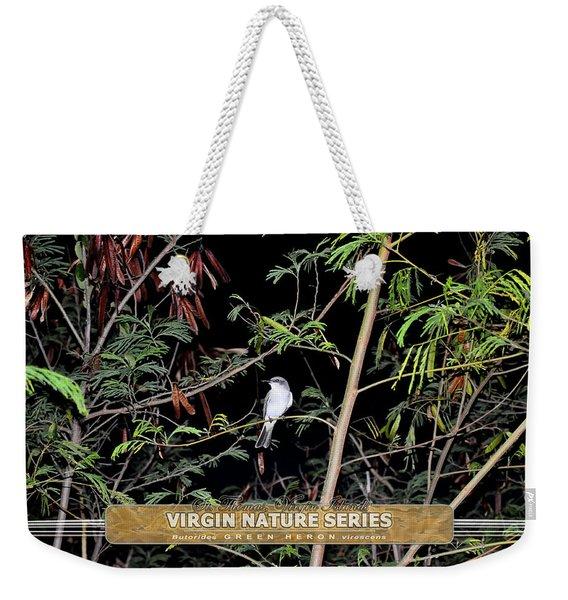 Kingbird In Casha - Virgin Nature Series Weekender Tote Bag