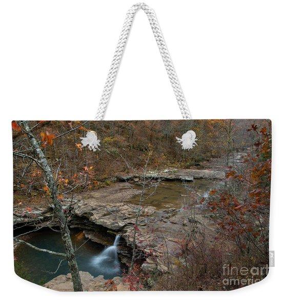 Kings River Waterfall Weekender Tote Bag