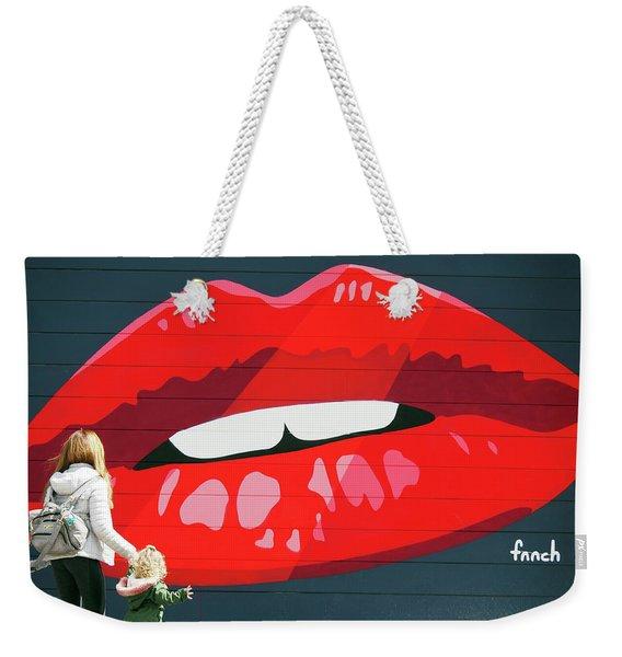 Kiss From San Francisco Weekender Tote Bag