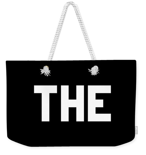 Weekender Tote Bag featuring the digital art Kiss The Ring by Flippin Sweet Gear