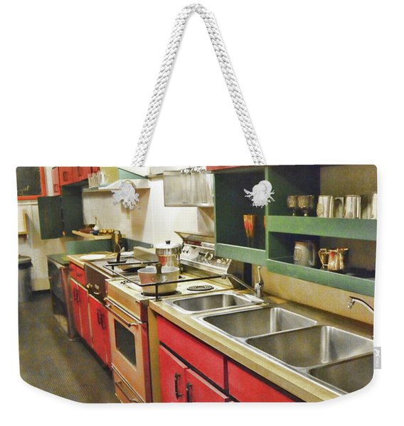 Kitchen Car Weekender Tote Bag
