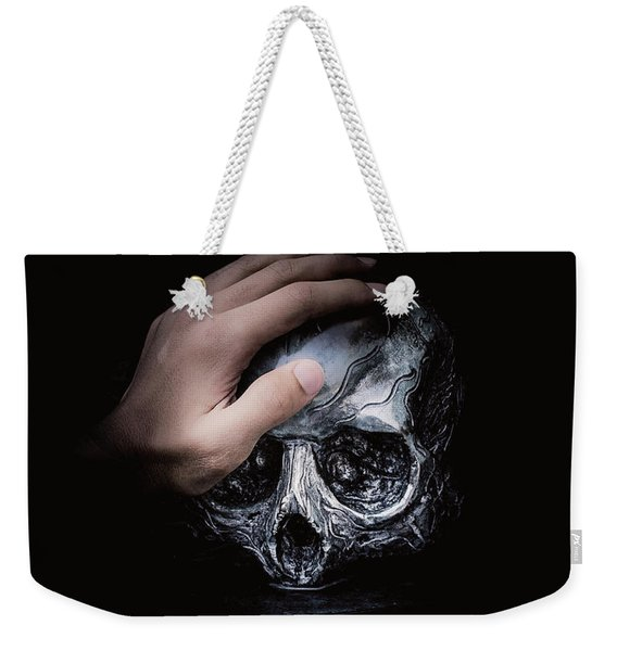 Weekender Tote Bag featuring the digital art Knife Crime Part 3 - Rest In Peace by ISAW Company