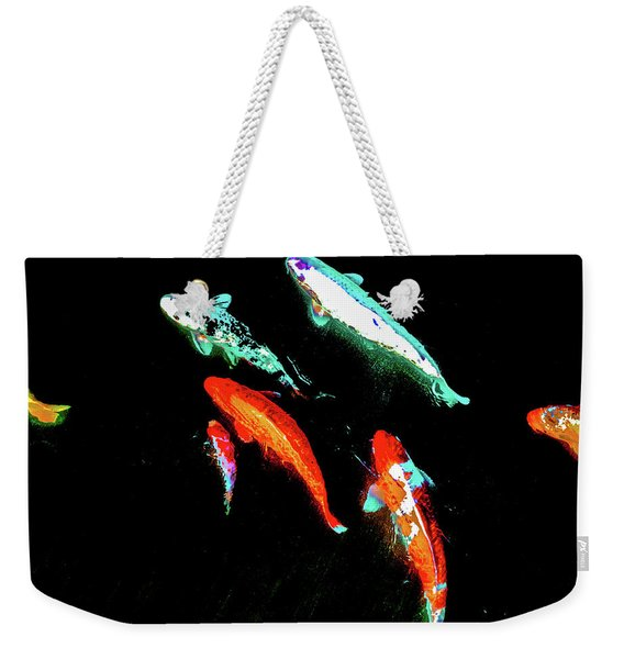 Koicarpscape 3 Weekender Tote Bag
