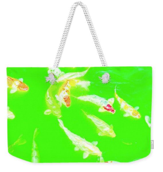 Koicarpscape 4 Weekender Tote Bag