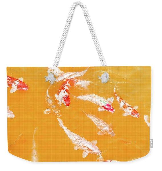 Koicarpscape 5 Weekender Tote Bag
