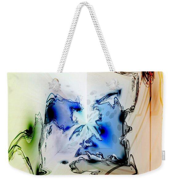 Kooky Abstract Weekender Tote Bag