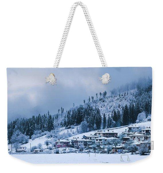 Koprivshtica Winter Panorama Weekender Tote Bag