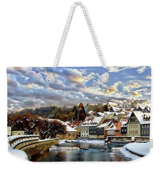 Kronach Winter Scene Weekender Tote Bag