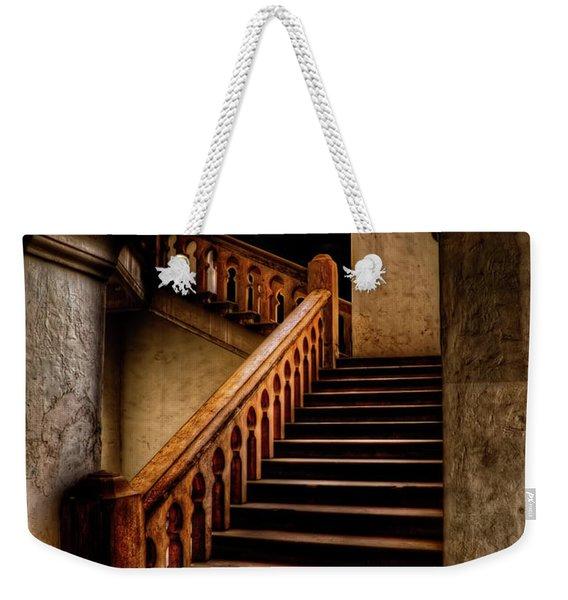 Ktm Stairway Moon Weekender Tote Bag