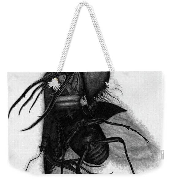 Kuchisake-onna The Slit Mouthed Woman Ghost - Artwork Weekender Tote Bag