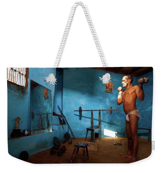 Kusti Akhara Weekender Tote Bag