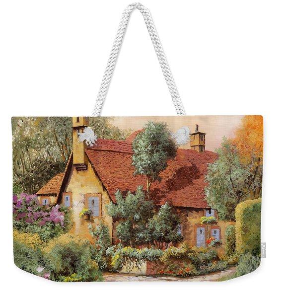La Casa Inglese Weekender Tote Bag