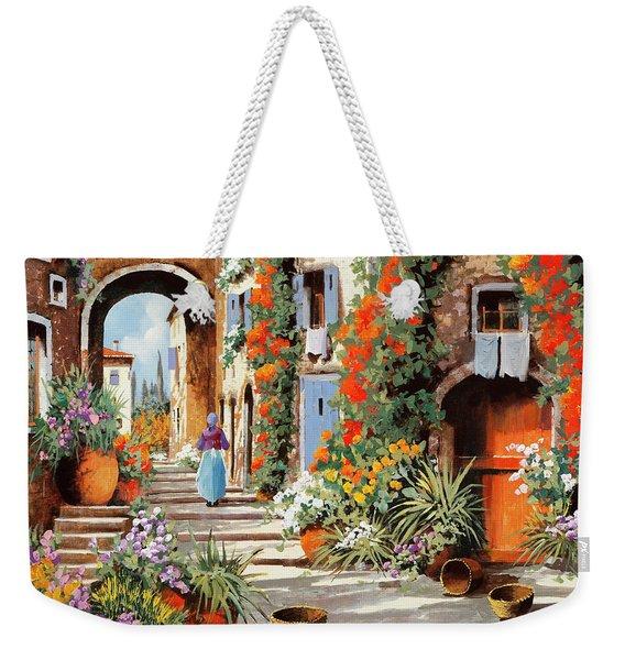 La Donnina  Weekender Tote Bag